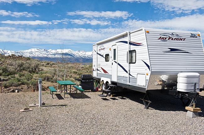 RV Site - RV 22 to 28 Feet, NO Fifth Wheels, NO Trailers